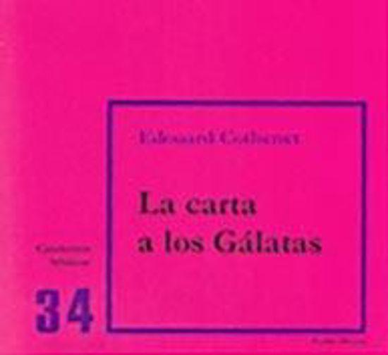 Picture of CARTA A LOS GALATAS (VERBO DIVINO) #34
