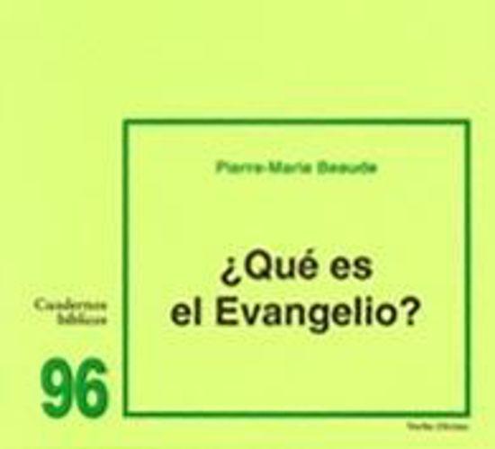 Picture of QUE ES EL EVANGELIO #96