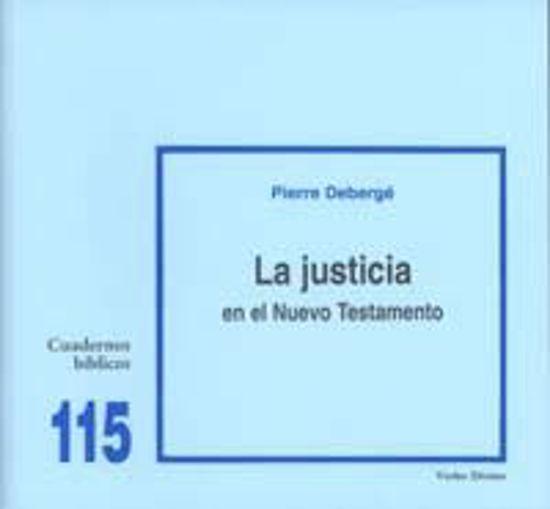Picture of JUSTICIA EN EL NUEVO TESTAMENTO #115