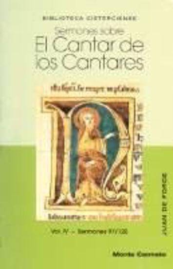 Picture of SERMONES SOBRE EL CANTAR DE LOS CANTARES VOL. IV #10