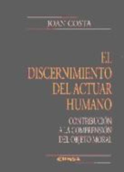 Picture of DISCERNIMIENTO DEL ACTUAR HUMANO