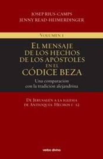 Picture of MENSAJE DE LOS HECHOS DE LOS APOSTOLES EN EL CODICE BEZA I