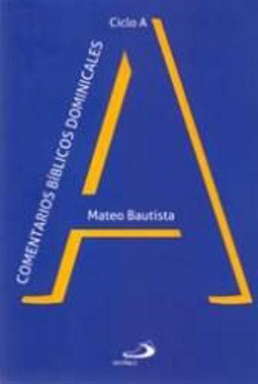 Picture of COMENTARIOS BIBLICOS DOMINICALES (CICLO A)