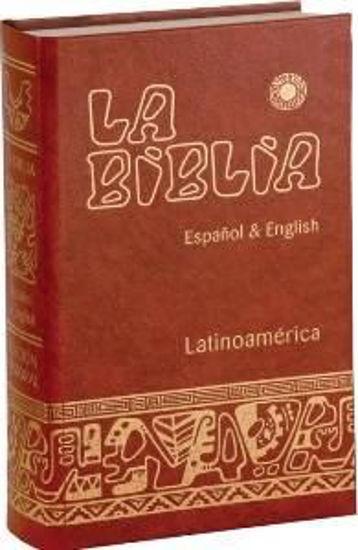 Picture of BIBLIA LATINOAMERICANA ESPAÑOL & ENGLISH (TAPA DURA)