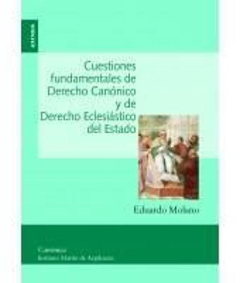 Picture of CUESTIONES FUNDAMENTALES DE DERECHO CANONICO Y DE DERECHO ECLESIASTICO DEL ESTADO