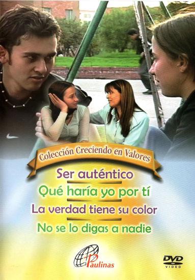 Picture of DVD.SER AUTENTICO - QUE HARIA YO POR TI - LA VERDAD TIENE SU COLOR - NO SE LO DIGAS A NADIE