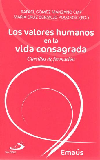 VALORES HUMANOS EN LA VIDA CONSAGRADA