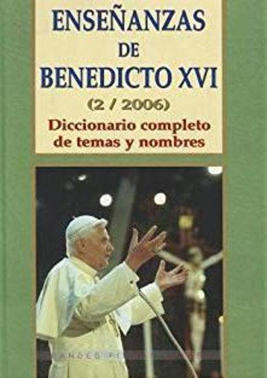 ENSEÑANZAS DE BENEDICTO XVI (2/2006) #118