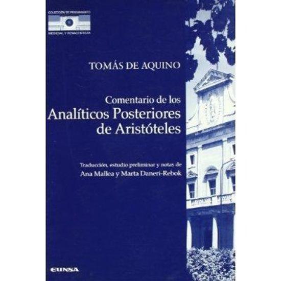 COMENTARIOS ANALITICOS POSTERIORES DE ARISTOTELES
