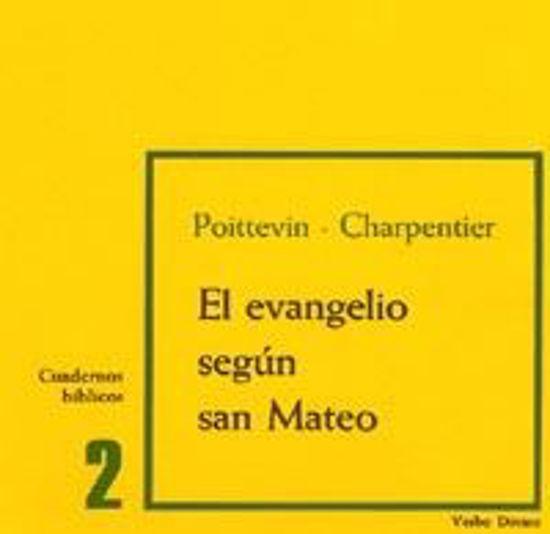 Foto de EVANGELIO SEGUN SAN MATEO (CUADERNOS BIBLICOS) #2