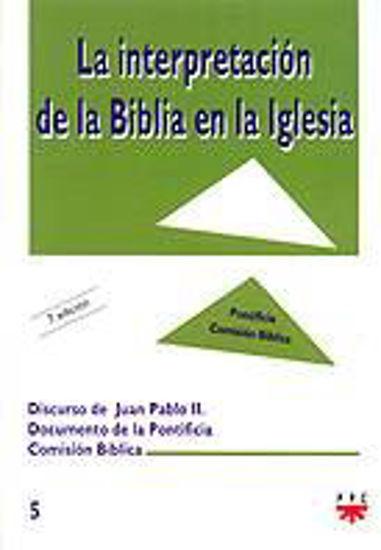 Picture of INTERPRETACION DE LA BIBLIA EN LA IGLESIA #5