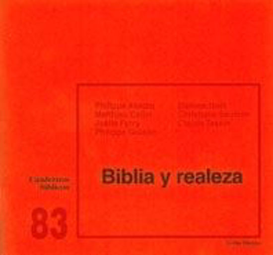 Picture of BIBLIA Y REALEZA #83