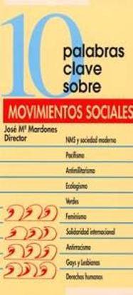 Foto de 10 PALABRAS CLAVE SOBRE MOVIMIENTOS SOCIALES #10