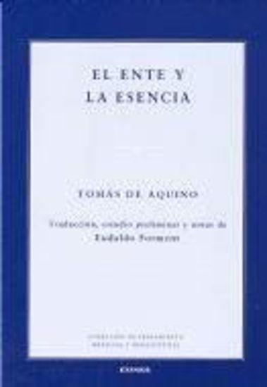 Picture of ENTE Y LA ESENCIA