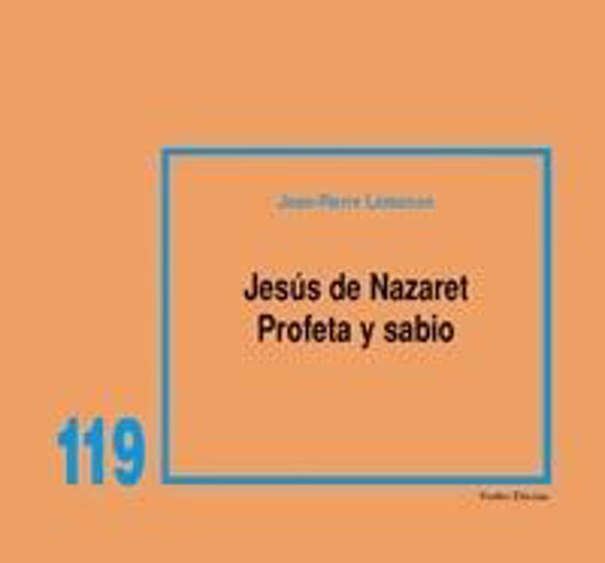 Picture of JESUS DE NAZARET PROFETA Y SABIO #119