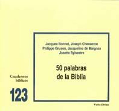Picture of 50 PALABRAS DE LA BIBLIA #123