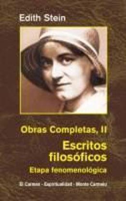 Foto de EDITH STEIN OBRAS COMPLETAS II ESCRITOS FILOSOFICOS