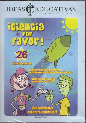 Foto de DVD.CIENCIA POR FAVOR