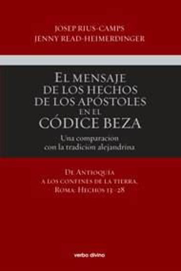 Picture of MENSAJE DE LOS HECHOS DE LOS APOSTOLOS EN EL CODICE BEZA II