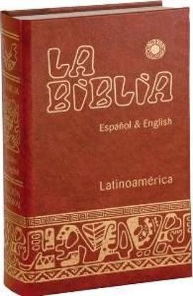 Foto de BIBLIA LATINOAMERICANA ESPAÑOL & ENGLISH (TAPA DURA)
