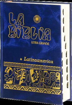 BIBLIA LATINOAMERICANA (LETRA GRANDE CON INDICE)
