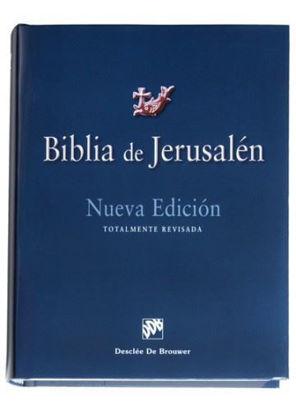 BIBLIA DE JERUSALEN NUEVA EDICION (TAPA DURA)