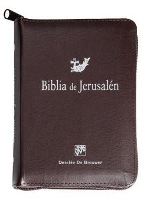 BIBLIA DE JERUSALEN NORMAL CREMALLERA