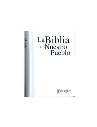 Picture of BIBLIA DE NUESTRO PUEBLO MINI CARTONE BLANCA