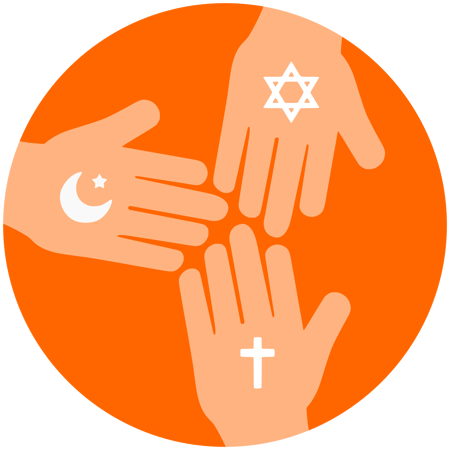 Cuadro para la categoría Religiones