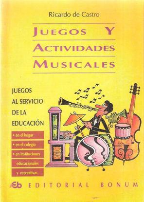 JUEGOS Y ACTIVIDADES MUSICALES