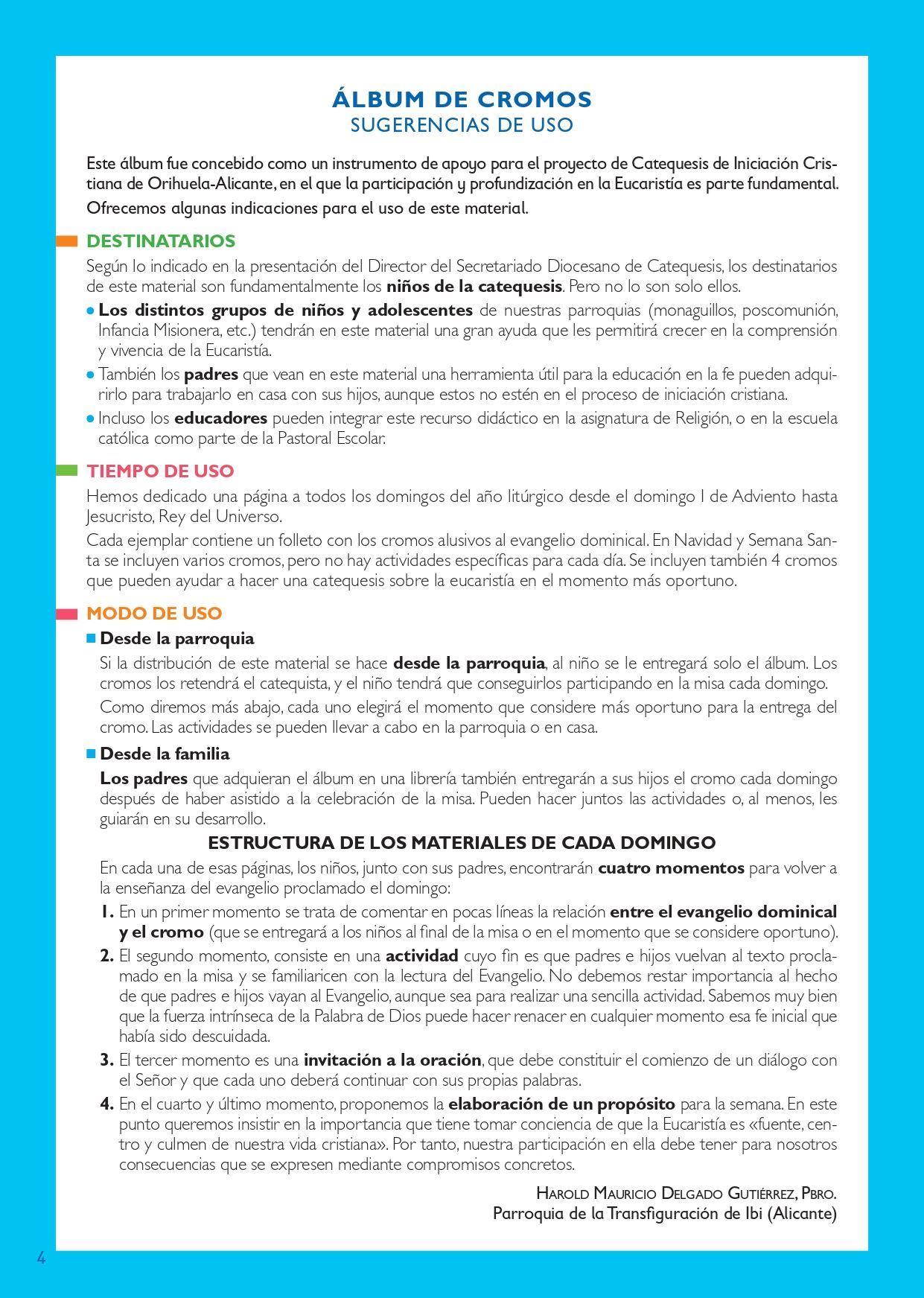 FIESTA DEL DOMINGO CICLO C (INFANTIL)