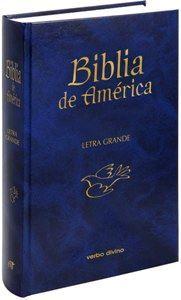 BIBLIA DE AMERICA (LETRA GRANDE)