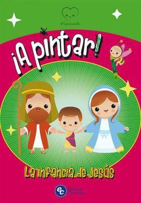 PINTAR LA INFANCIA DE JESUS - LIBRERIA PAULINAS