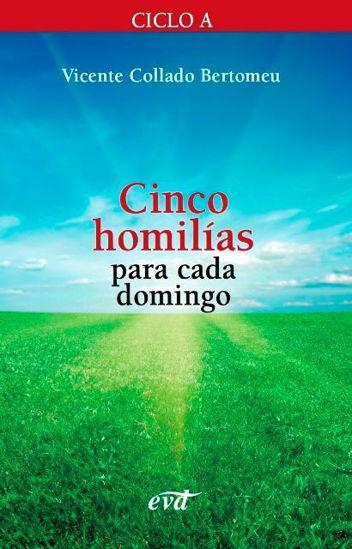 CINCO HOMILIAS PARA CADA DOMINGO CICLO A - LIBRERIA PAULINAS