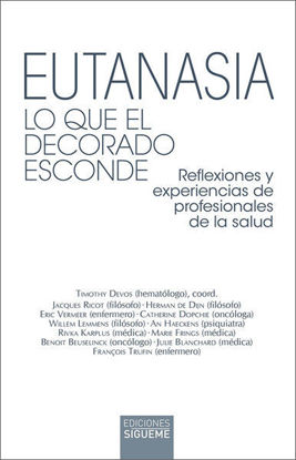 Picture of EUTANASIA Lo que el decorado esconde (SIGUEME)