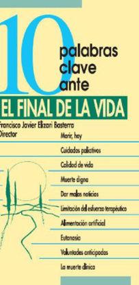Picture of 10 PALABRAS CLAVE ANTE EL FINAL DE LA VIDA #36