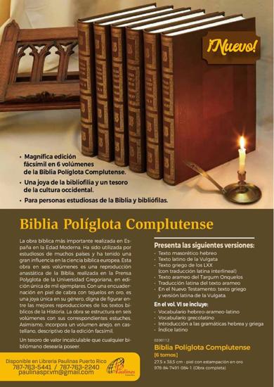Picture of BIBLIA POLIGLOTA COMPLUTENCES  6 TOMOS